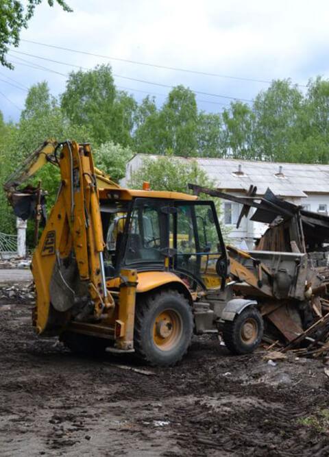 снос и утилизация деревянных сараев