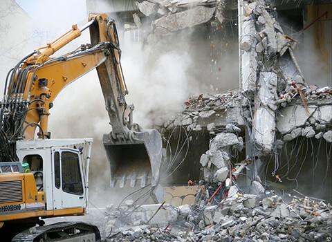 демонтажные работы зданий и сооружений